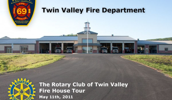 Tour of Twin Valley Fire Department